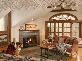 romantic vermont lodging