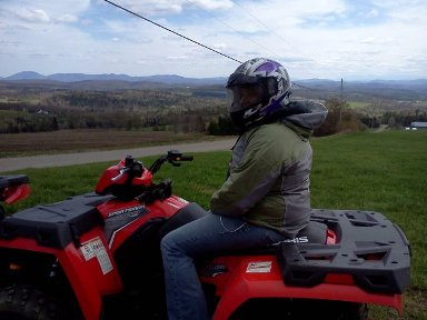 ATV guided tour in Northeast Kingdom Vermont
