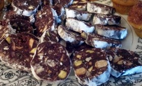 Chocolate Salami at Rabbit Hill Inn
