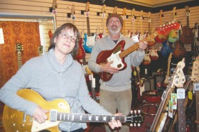 Northern Lights Music shop Littleton New Hampshire. Best Guitar store in New England