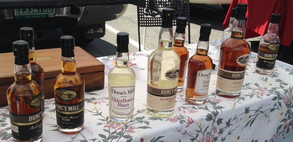 Local distillers at Vermont Farmers Markets