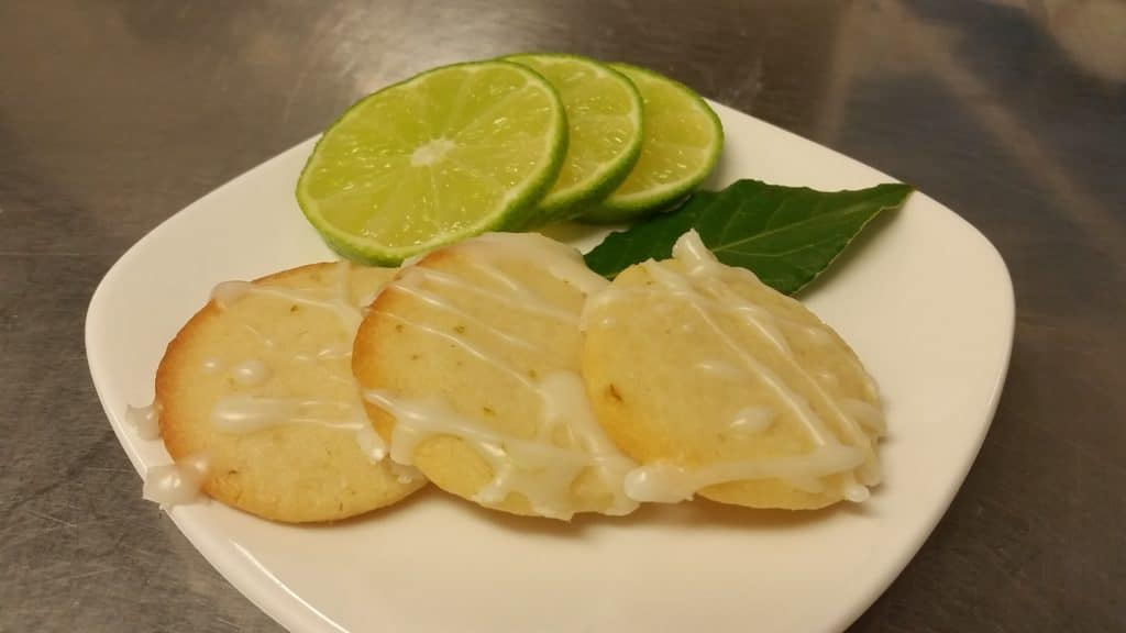 Lime meltaway cookies recipe