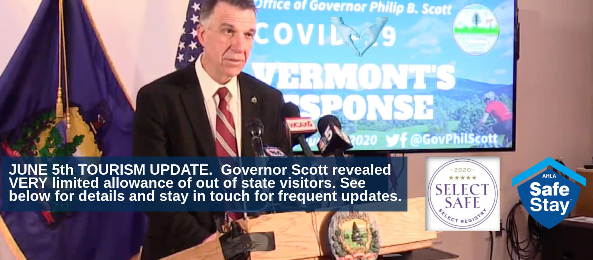 Vermont Governor Phil Scott