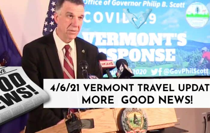 Governor Phil Scott talking about lifting restrictions