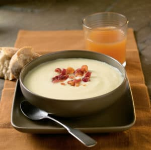 Cabot Cheddar Cheese Soup recipe from Rabbit Hill Inn