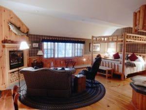 Luxury room Cedar Glen Suite at Rabbit Hill Inn