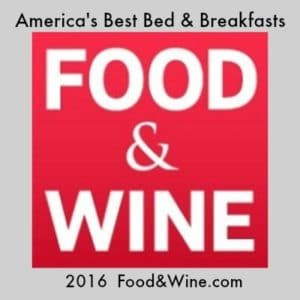 Food & Wine.com America's Best Bed and breakfasts