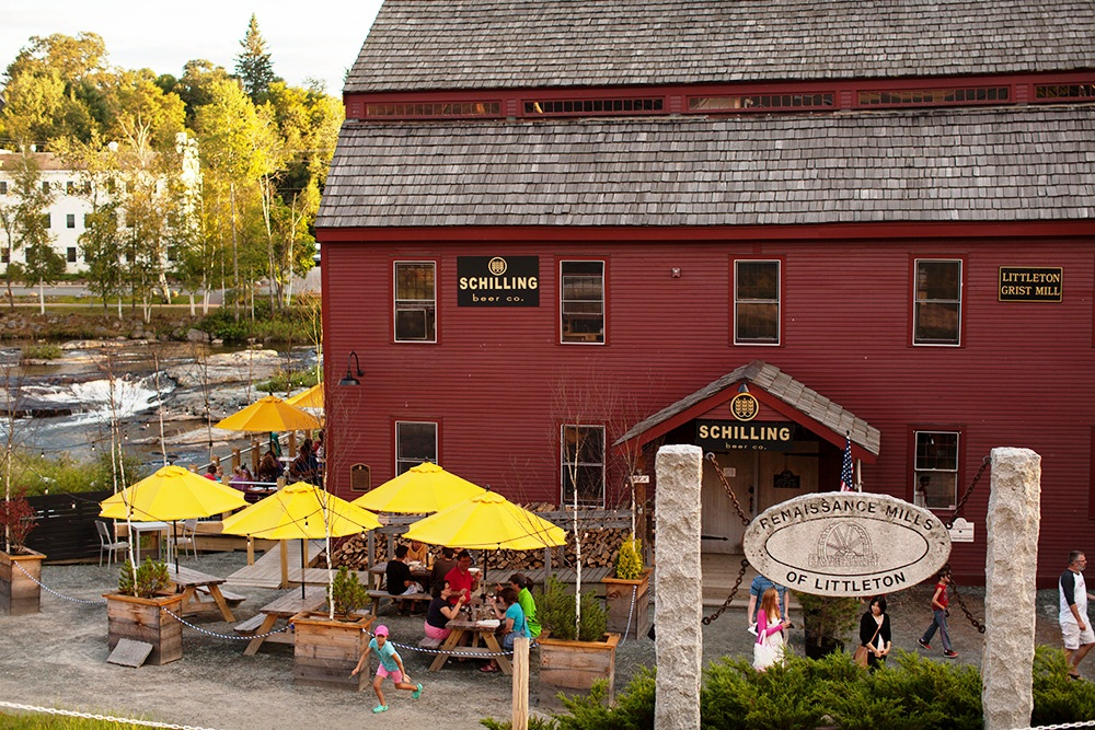 Schilling brewery in Littleton New Hampshire