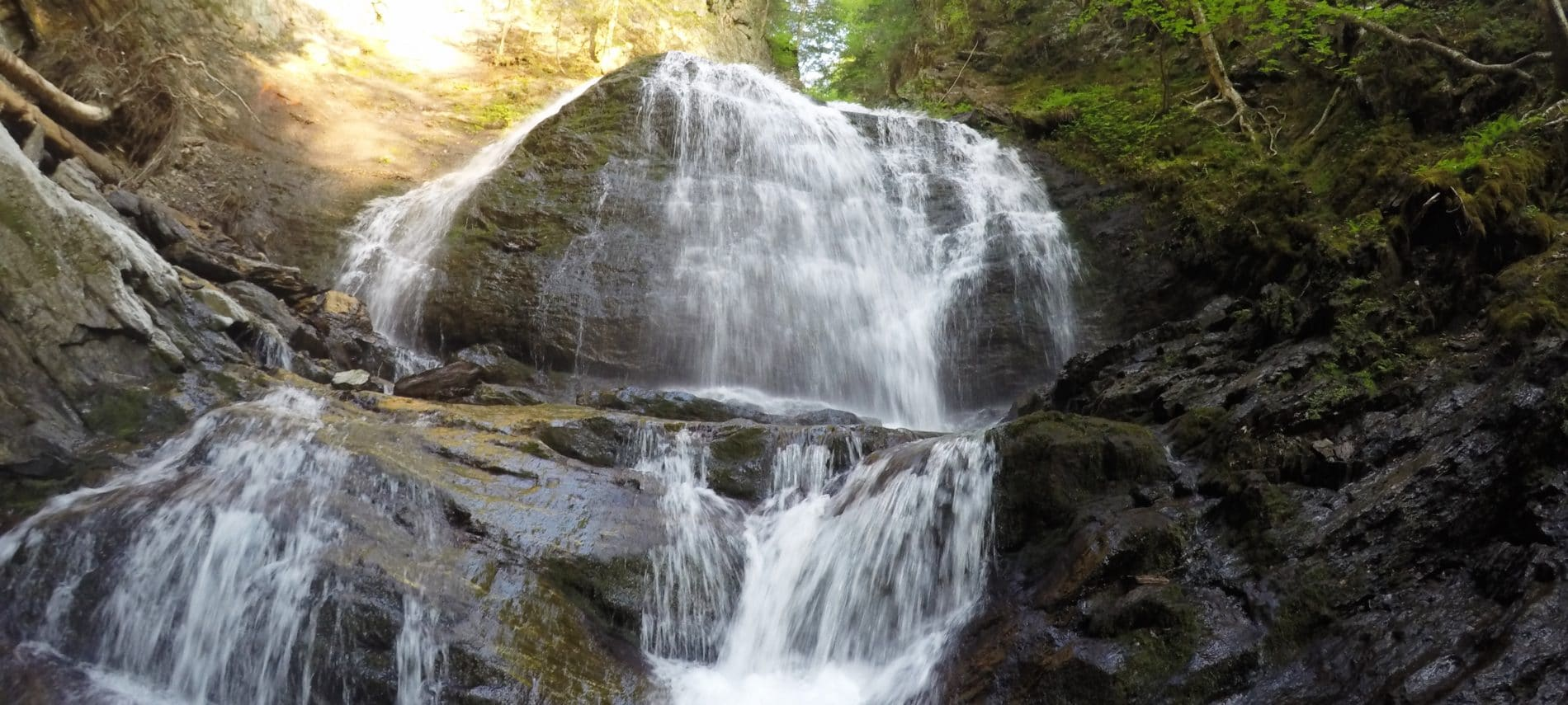 Glen Falls In Highlands Nc Waterfall Nantahala National Forest