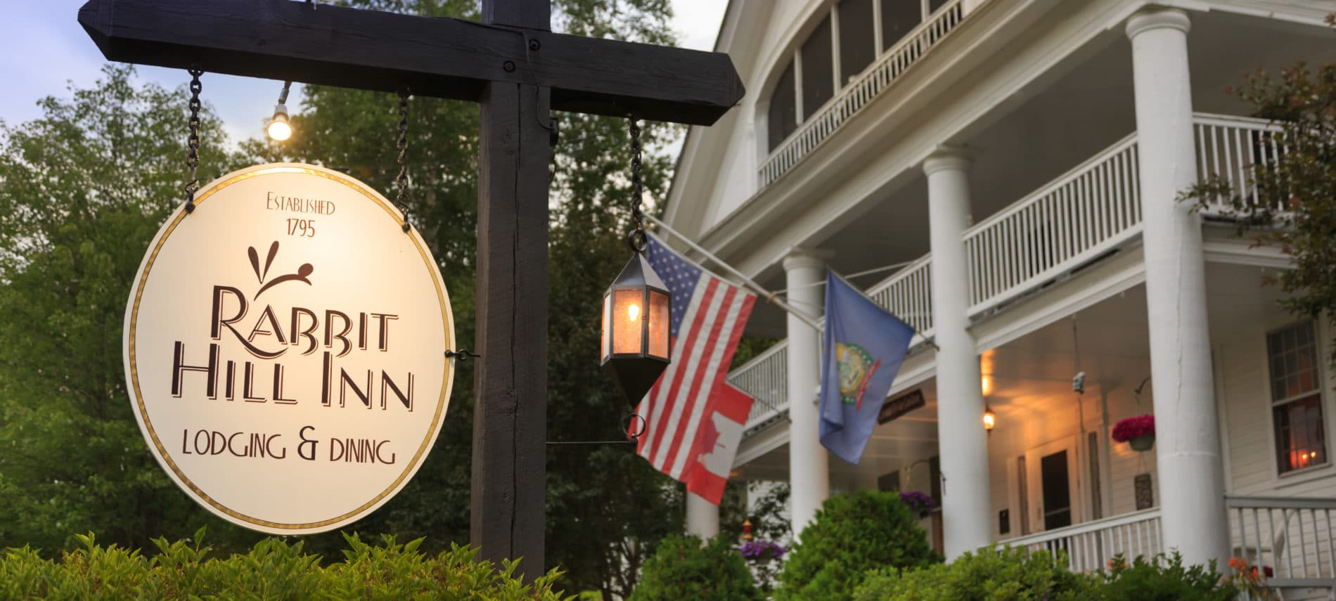 Rabbit Hill Inn and restaurant in Vermont