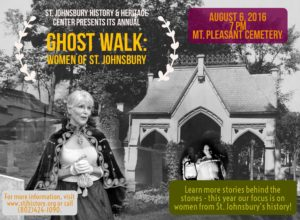 St. Johnsbury VT Ghost Walk 2016