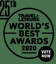 Travel and Leisure 2020 World's Best Awards logo