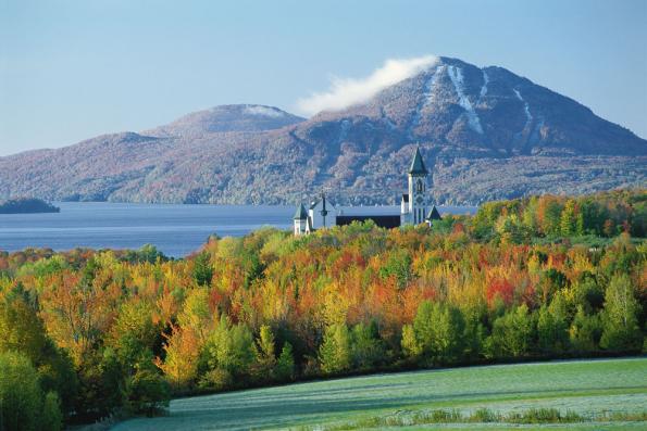 Saint Benoit-du-lac Saint Benedict Abbey Monastery Quebec
