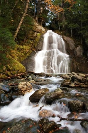 Easy waterfall hikes in Vermont