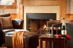 Honeymoon suites at Rabbit Hill Inn
