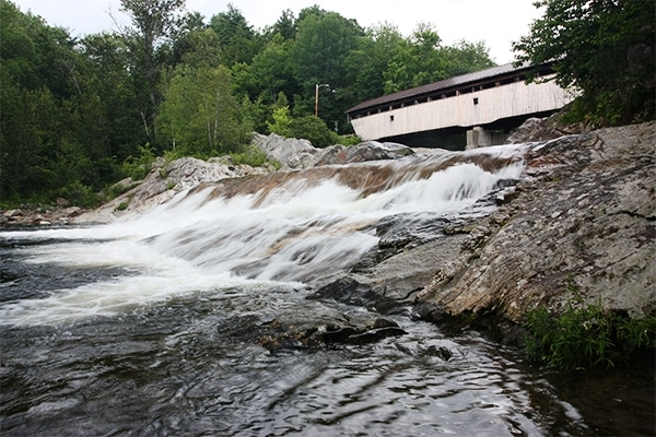 swimming holes in Vermont and White Mountains New Hampshire