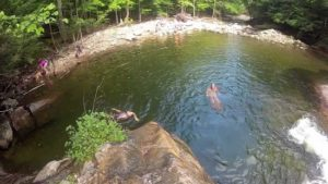 Swimming holes in Vermont