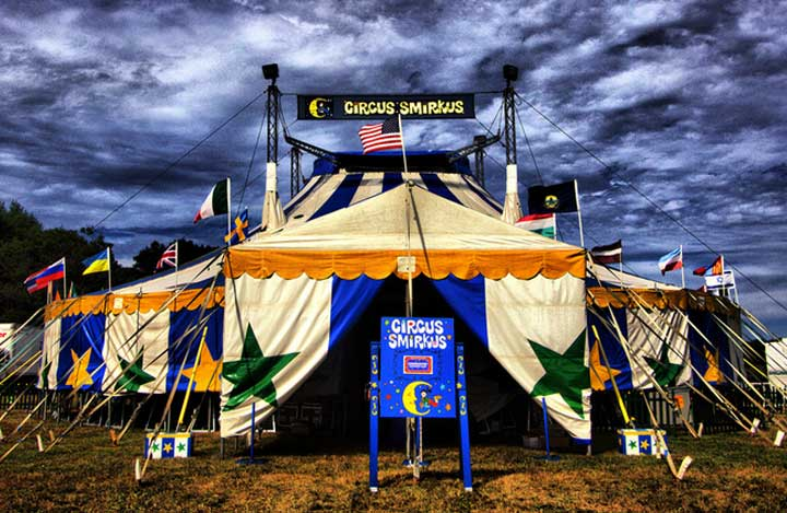 Circus Smirkus Big Top tour summer 2017