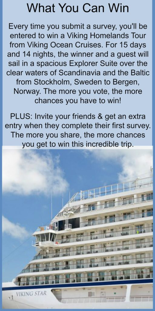 contest to win a viking cruise